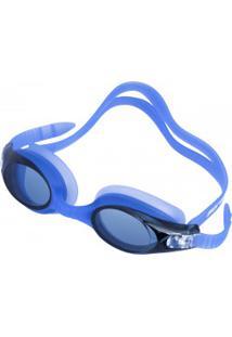 Óculos De Natação Mormaii Ventus - Adulto - Azul/Cinza Esc