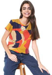 Camiseta Oh, Boy! Color Block Amarelo