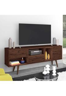 Rack Para Tv Até 70 Polegadas 3 Portas Tóquio Rustic - Móveis Germai