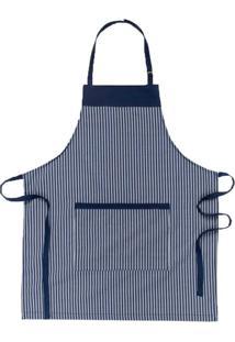 Avental Copa & Cia Home Chef Marinho 85X70Cm - 29384