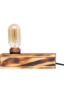 Luminária - Edison Fire Print