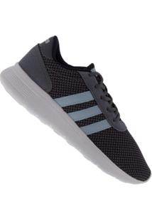 Tênis Adidas Neo Lite Racer - Feminino - Cinza Escuro