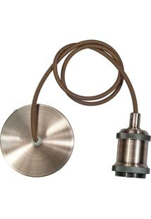 Pendente Campbell- Bronze- 150Cm- Bivolt- Hehevvy