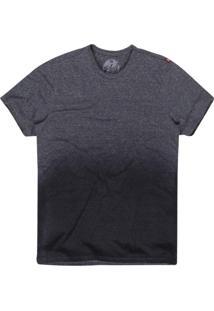 Camiseta Masculina Botonê Degradê Azul
