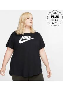 Plus Size - Camiseta Nike Essential Futura Feminina