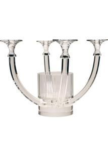 Castiçal De Cristal Arendal - 4 Velas