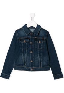 Ralph Lauren Kids Jaqueta Jeans - Azul