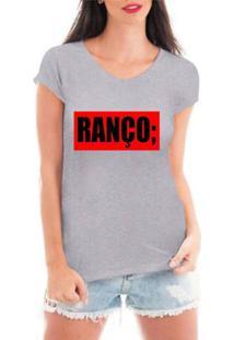 9fae0d4770 Camiseta Criativa Urbana Ranço Blusa Feminina - Feminino