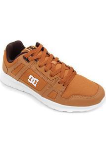 Tênis Dc Shoes Stag Lite Masculino - Masculino-Marrom+Branco