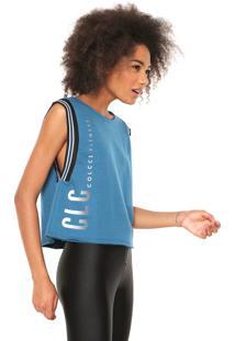 07dd08798d Regata Moletom Colcci Fitness Logo Azul