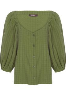 Camiseta Feminina Poeme - Verde