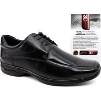 Sapato Social Jotape 3D Vision Tamanhos Grandes Masculino - Masculino-Preto 5057ed719051f