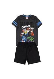 Pijama Infantil 52.05.0025 Chumbo - Evanilda
