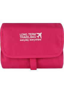 Necessaire Organizadora Travel Bag Stradda (Verde, Único)