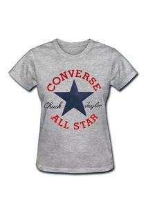 Camiseta Coolest Converse Cinza