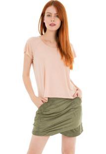 Camiseta Raglan 41Onze Rosa - Tricae