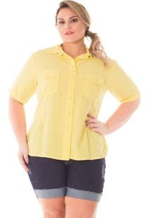4b38bd671 Camisa Confidencial Extra Plus Size Color Feminina - Feminino