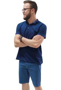 Bermuda Riccieri Jeans Azul