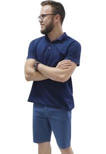 Bermuda Riccieri Jeans Azul - Azul - Masculino - Algodã£O - Dafiti