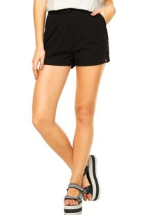 Short Fred Perry Preto