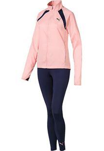 Agasalho Puma Yoga Inspired Suit Feminino - Feminino