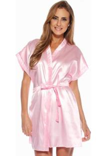 Robe Feminino Adulto Luna Cuore - Feminino-Rosa
