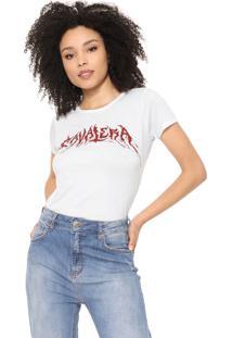 Camiseta Cavalera Logo Branca