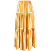 63617fd930 Chinti   Parker Saia Longa Com Pregas - Amarelo