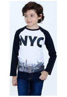 6b074c6ab Camiseta Para Meninos Manga Longa Multicolorida infantil