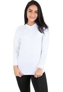 692c0957c046a Camisa Branca De Frio feminina
