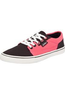 Tênis Dc Shoes Bristol Canvas Rosa/Preto