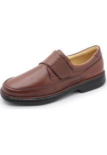0b5054871 Sapato Centuria Conforto Tamanho Grande Amendoa