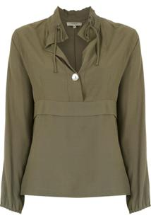 2f7476b412 Fillity Camisa Com Ajuste - Green
