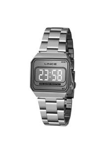 Relógio Digital Lince Feminino - Mdm4644L Prateado