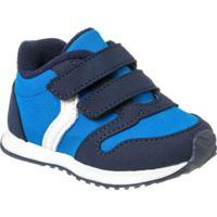 0651e3569a Netshoes. Tênis Infantil Klin Mini Walk Velcro Masculino ...