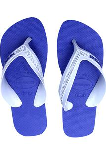 Chinelo Havaianas Infantil - Masculino-Cinza+Azul