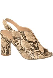 Sandal Boot Cobra Com Recorte Frontal