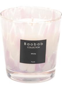 Baobab Collection Vela Aromatizada White Pearls - Branco