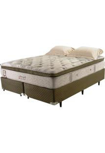 Cama Box Colchão King Size Imperatore Eco Bamboo Herval 193X203X62