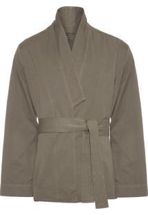 Casaco Masculino Overcoat Super Soft - Verde