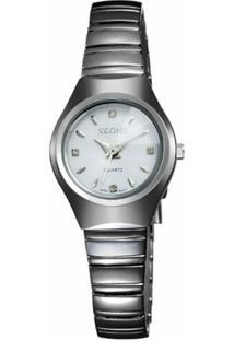 Relógio Skone Analógico 7101L - Feminino