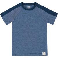 Camiseta Infantil Essencial Com Mix De Malhas Puc       ba3823ac5a1