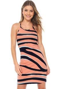 68509035345b3 Vestido Lez A Lez Curto Zebra Rosa