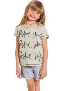 Pijama Infantil Mescla