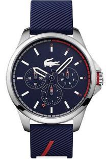 5f1d6487a1b Relógio Lacoste Masculino Borracha Azul - 2010979
