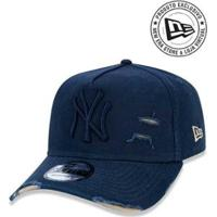 b7979d237422d Boné 940 New York Yankees Mlb Aba Curva New Era - Masculino-Marinho