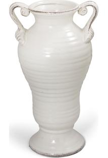 Vaso Bencafil 79030 Vaso Anfora Branco Antique