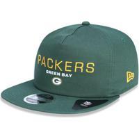 Boné 950 Green Bay Packers Nfl Aba Reta New Era - Masculino-Verde 624eca8dc5b