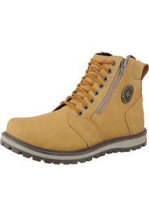 Bota Casual Crshoes Mostarda Amarelo