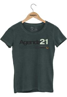 Camiseta Forseti Estonada Agenda 21 Verde